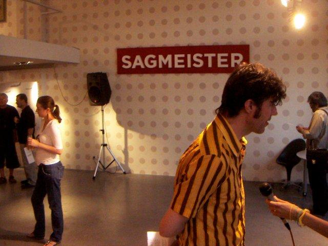 Photo of Stefan Sagmeister