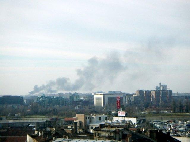 Belgrade smoking